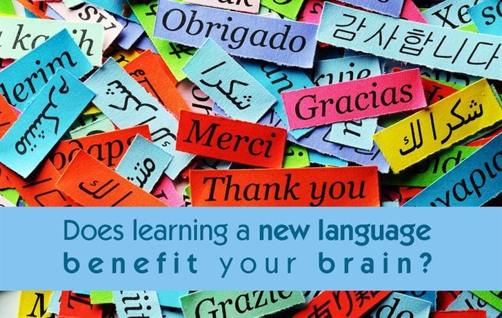Brain benefits from learning a new language