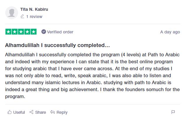 Learn Arabic online review 1